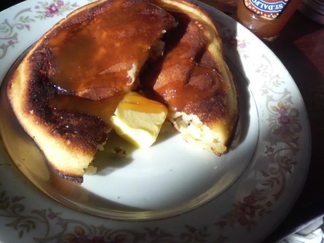 キャラメル・バナナ パンケーキ