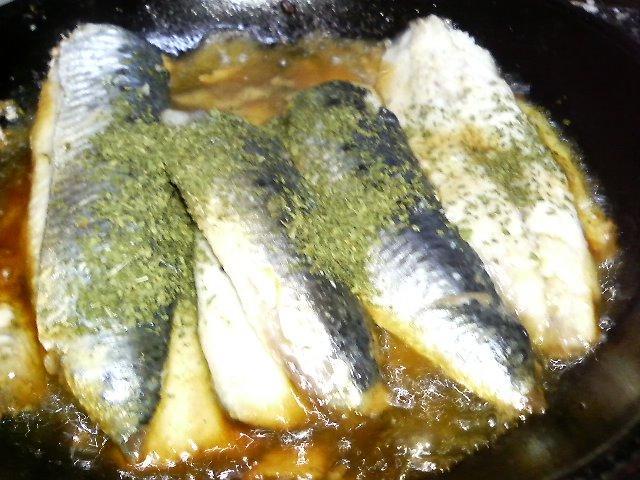 イワシフィーレのオイル焼き