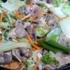 豚肉と白菜のとろみあんかけ炒め