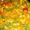 彩り鮮やか♪プチトマト入り簡単キーマカレー