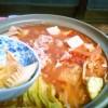 春の味覚♪タケノコのトマト風味鍋