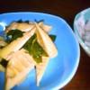 定番、春の味覚♪若竹煮