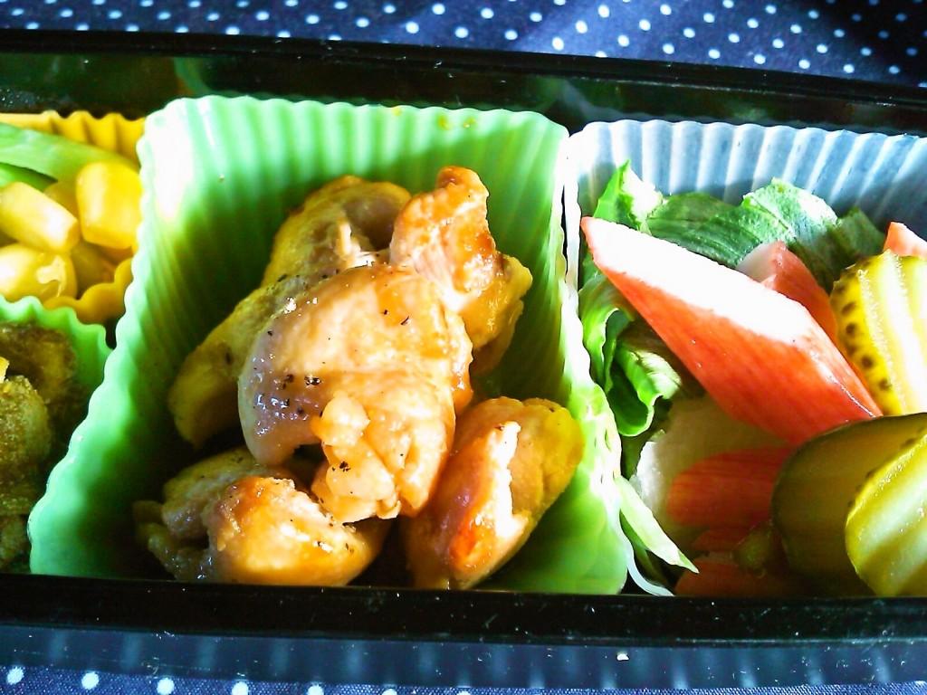 お弁当の定番!鶏むね肉のガーリックソテー