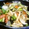 ピリ辛+甘い!?チョリソと青梗菜の八宝菜風