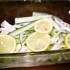 レモンでさっぱり♪キュウリと鶏胸肉のマリネ風