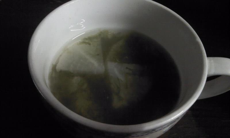 沖縄の味覚、アーサーと大根のお汁