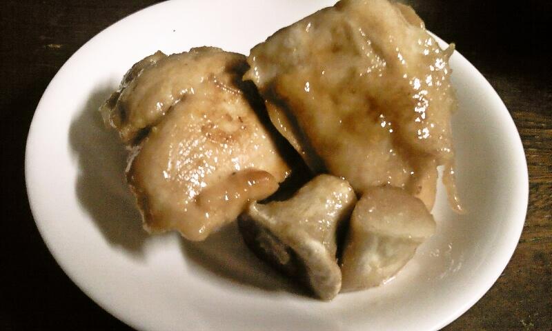 忙しい日にささっとひと品♪鶏胸肉照り焼きのエリンギ添え
